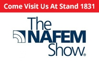 See us on stand 1831 - The NAFEM Show